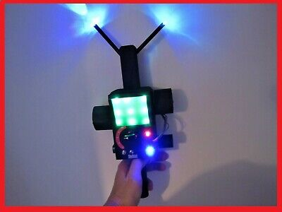 Ghostbusters Ghost RGB PKE METER Movie Prop 13 Lights & VIB Goes great with Trap