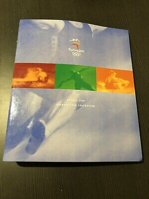 2000 Five $5 Dollar - Sydney Olympic Collection 28 Coin Set - In Official Album