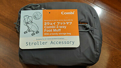 Combi Stroller And Carrier Foot Muff With Storage Bag - New - Carlingford Pickup