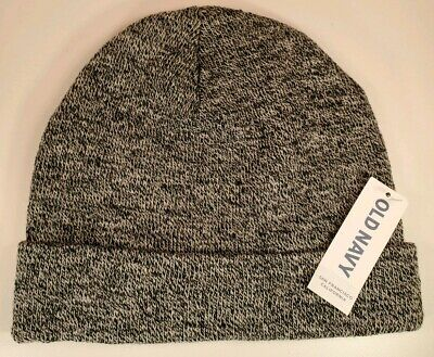 Grey Gray Beanie Knit Hat Cap By Old Navy Unisex Heather Mens Womens New