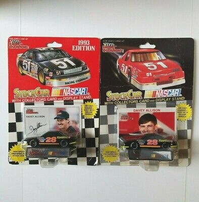 Racing Champions 1//64 Scale Die-Cast 1992 Collectors Edition #28 Davey Allison 7UP Racing Ford Thunderbird