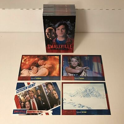 Smallville Season 5 (Superman) - Complete Card SET (90) Inkworks 2007 - NM