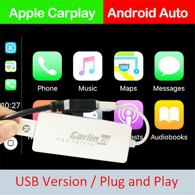 Carlinkit For Android Radio Head Unit Wired IOS CarPlay Android Auto USB Dongle