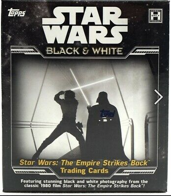 2019 Tops Star Wars The Empire Strikes Back The Black and White Hobby Box! New!