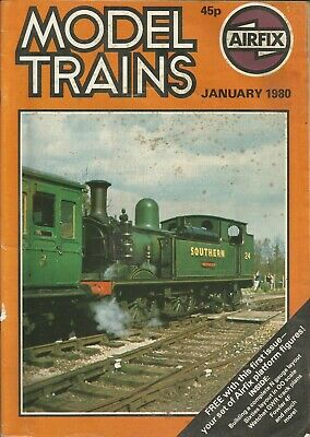 Model Trains Magazine By Airfix - January 1980 (Amt001)