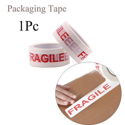 Adhesive Office Fragile Warning Sticker Box Sealing Care Shipping Packing Tape