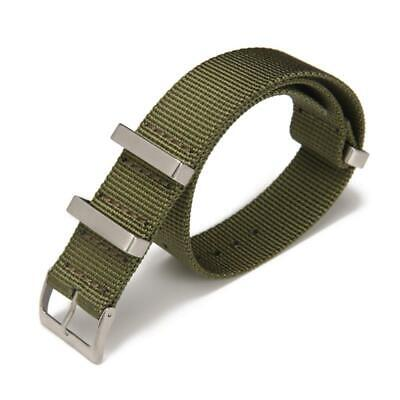 Carty 20mm/22mm High-Density Nylon NATO Men's Strap Replacement Watch Band