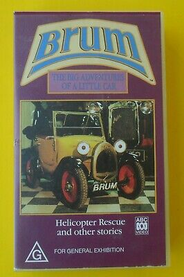 Brum Helicopter Rescue Video In Good Condition Rare Find Tracking Postage