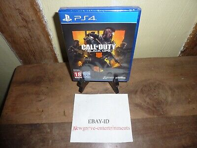 Call Of Duty Black Ops 4 PS4 Brand New Sealed