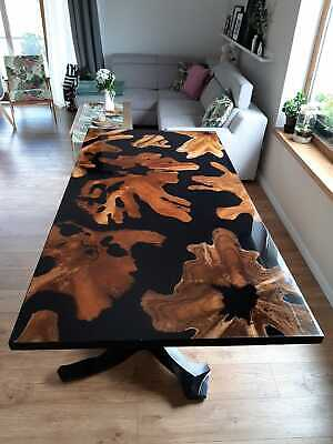 EPOXY RESIN DINING table - £850 00 | PicClick UK