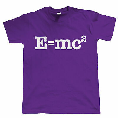 E=mc2 Mens Hipster T Shirt - Einstein Science Geek Gift for Dad Him