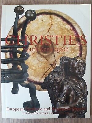 Christie's European Furniture and Decorative Objects/South Kensington/9 oct 2002