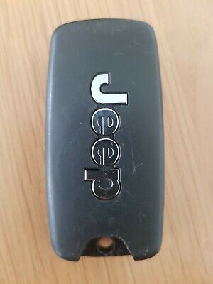 Jeep 4 Button Remote Car Key Fob In Working Order (Ref 380)