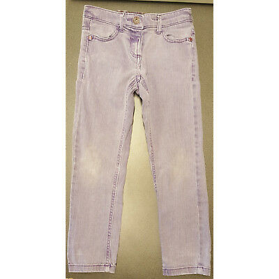 Girls Next Purple Lilac Jeans Adjustable Waist 6 Years