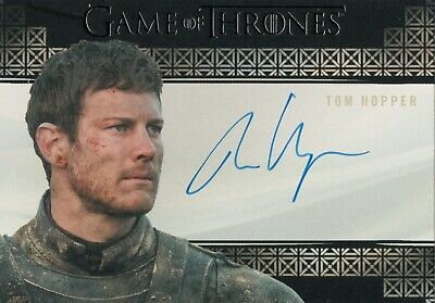 Game of Thrones Inflexions, Tom Hopper 'Dickson Tarly' Autograph Card