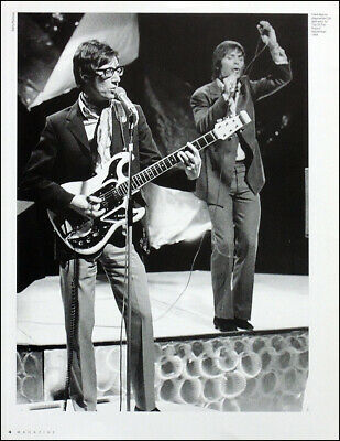 Cliff Richard & Hank Marvin Poster Page . 1969 Top Of The Pops Studios . 2Q4