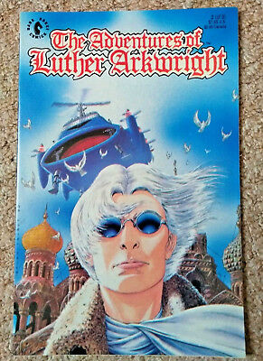 THE ADVENTURES OF LUTHER ARKWRIGHT # 2 (1990) DARK HORSE (NM Condition)