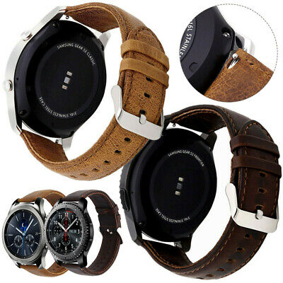 18mm 20mm 22mm Genuine Leather Wrist watch Band Watch Strap Replacement Vintage