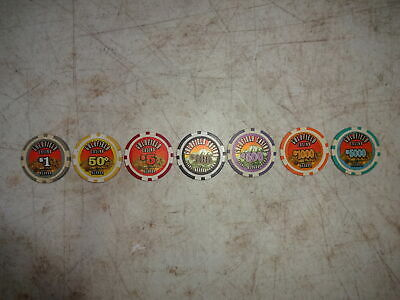Vintage Goldfield Casino Chips