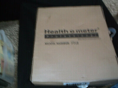 Health O Meter Mechanical Professional Scale 330 LB Capacity NEW IN BOX