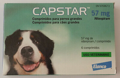 Capstar Flea Treatment Tablets for Dogs 6 tablets