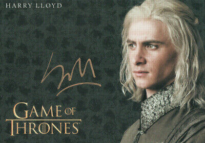 Game of Thrones Inflexions, Harry Lloyd 'Viserys Targaryen' Autograph Card