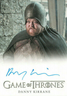Game of Thrones Inflexions, Danny Kirrane 'Henk' Autograph Card