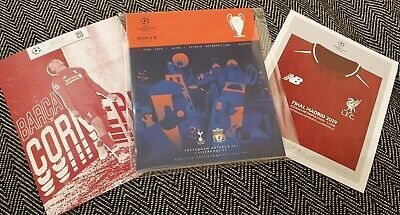 Champions League Final Liverpool vs Tottenham LIMITED Programme & ARNIE poster!!