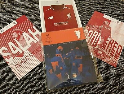 Champions League Final Liverpool vs Tottenham Programme & LIMITED 2 posters!!