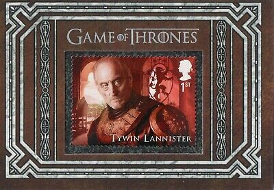 Game of Thrones Inflexions, Tywin Lannister S10 Stamp Card