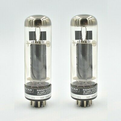 NOS MESA EL34 PAIR (2) Tubes 90's vintage 6CA7 Valves Tested and Tightly Matched