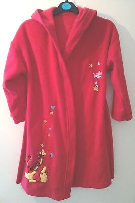 Winnie The Pooh Childrens Dressing Gown - Bhs - Age 7 To 8 - 128Cm