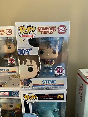Funko Pop Stranger Things Steve Baskin Robins Exclusive #829