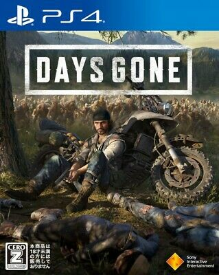 New PS4 Days Gone Japan PlayStation 4 PCJS-66037 4948872311168