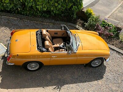 1973 Mgb Roadster Stunning Chrome Bumper Car From Hcc