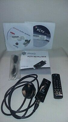 PINNACLE PCTV HD STICK Ultra-portable USB 2 0 TV tuner with