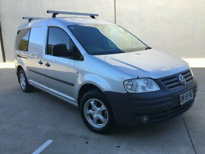 2008 Volkswagen Caddy 2K MY09 Wagon Life Maxi 7st 5dr DSG 6sp 1.9DT Silver A