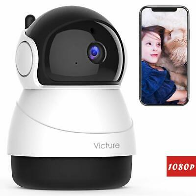 Victure 1080P WiFi Pet Camera FHD Indoor Wireless Surveillance Security IP Baby