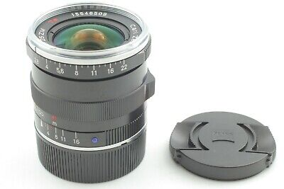 TOP MINT】CARL ZEISS Biogon 35mm F2 T* ZM Silver for Leica M
