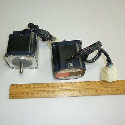 Lot of 3 Oriental Motor VEXTA PK266MA 2 Phase Stepper Motor, 2A .09 Deg/Step, US