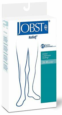 Jobst Relief Med Compression Stockings, Knee High, Closed Toe, 20-30 mmhg, XL