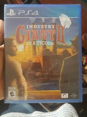 Industry Giant II (2) Be A Tycoon PS4 (Sony PlayStation 4, 2017) Brand NEW