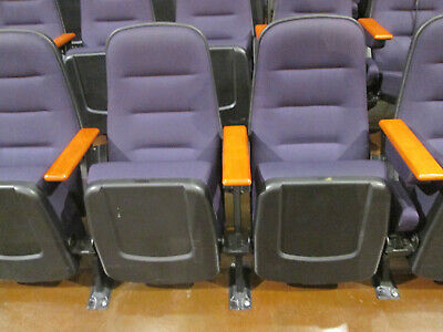 MOVIE THEATER, AUDITORIUM OR CHURCH CHAIRS. 150 Used chairs. $199.00 each