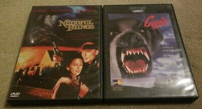 Needful Things & Cujo DVD Stephen King Inserts Included