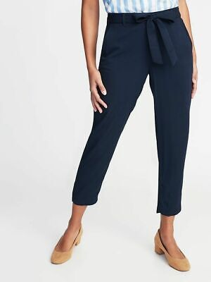 NWT: old navy Mid-Rise Tie-Waist Soft Cropped Pants for Women (20 tall) $40