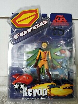 G-Force Battle of the Planets Keop action figure MISP Diamond Select 2002.