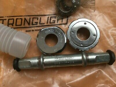 "1//4/"" 116mm bottom bracket axle NOS Vintage 1970s TA Specialites Campagnolo fit"