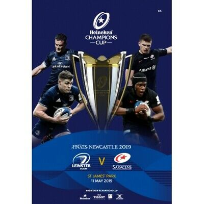 Leinster V Saracens Champions Cup Final 11/5/2019 Programme