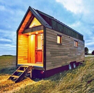 7.9m Mobile Tiny House Office THOW Cabin Granny Flat Container Studio Sleepout