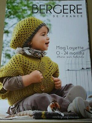 Bergere de France No. 165 Baby Autumn/Winter Crochet Knitting magazine 0-24 mths